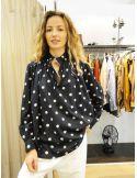 Laurence Bras chemise ample JUUL coton noir