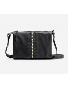 BIBA bag mini NASHVILLE smooth lether black