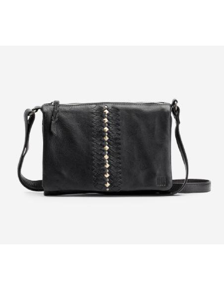 BIBA bag mini NASHVILLE smooth lether black