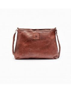 BIBA sac cuir vintage BOSTON BT16 hobo marron noir ou cognac