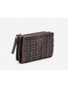 BIBA braided wallet CLAIRE CRE4L