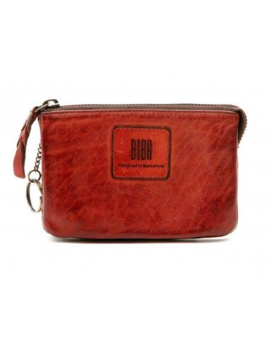 BIBA purse kansas KA5 black cognac red green