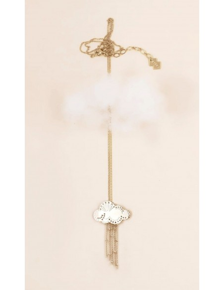 Christelle Dit Christensen Necklace M NUAGE plainted gold