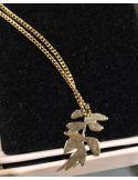 Christelle Dit Christensen Necklace S FRENE plaint gold