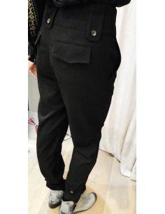 Laurence Bras pantalon BUISSON noir ou camel