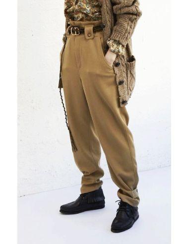 Laurence Bras Black or camel pants BUISSON