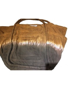 Laurence Bras sac Grocery marron