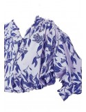 Laurence Bras Bowie shirt blue