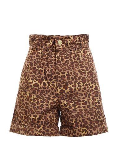 Laurence Bras BOYFRIEND shorts leopard