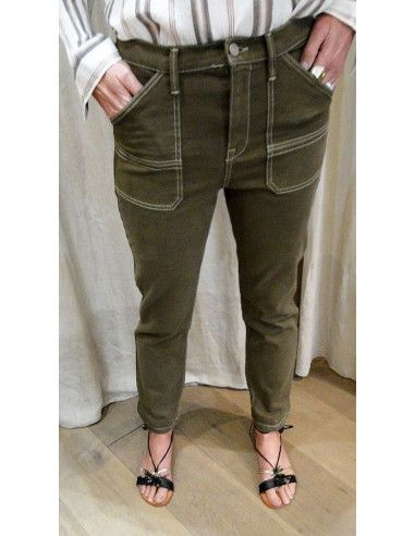 HOD Paris Pantalon ARIZONA kaki