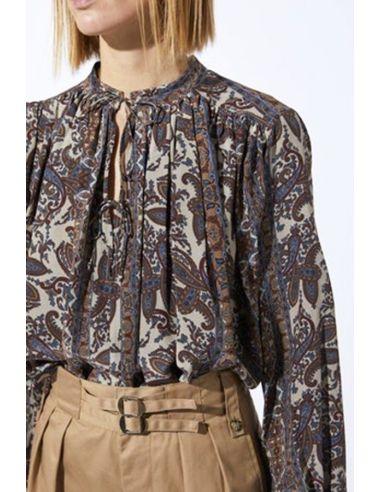 Laurence BRAS Shirt NEW CIGAR Gul ecru