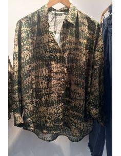 Hod Paris Shirt KELLY green fossil