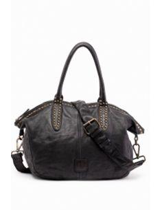 Biba Bag lether studded Eugene EUG1L black