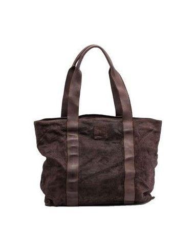 BIBA Large PRESCOTT PRE1L brown leather bag