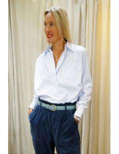 Laurence Bras Chemise POUILLE Men's stripes