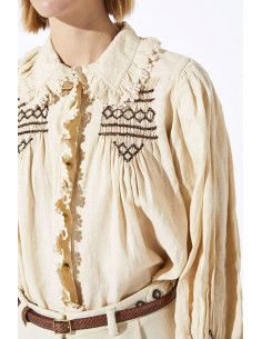 Laurence BRAS Shirt New CHAMPA off white